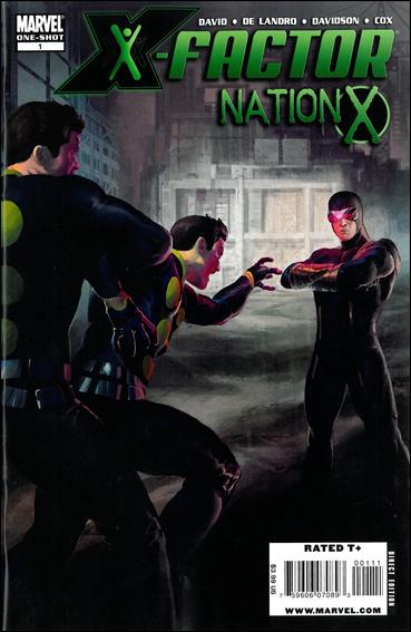 Nation X: X-Factor 1-A by Marvel