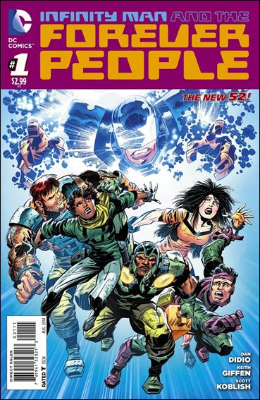 Infinity Man and the Forever People 1-A by DC