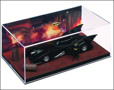 DC Batman Automobilia: The Definitive Collection of Batman Vehicles 1989 Batmobile (Batman Movie) by Eaglemoss Publications