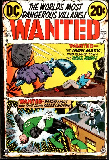 Wanted, the World's Most Dangerous Villains 5-A by DC