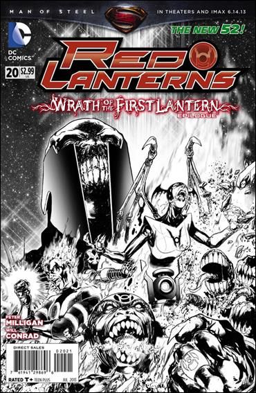 Red Lanterns 20-B by DC