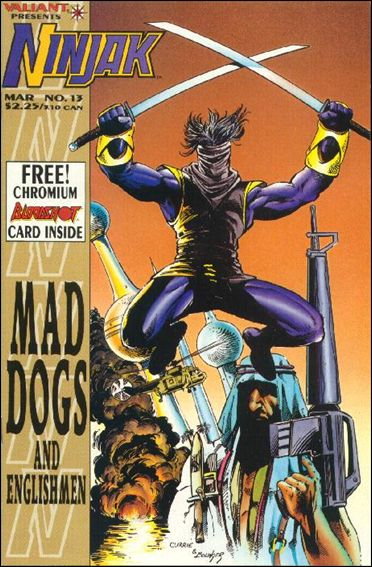 Ninjak (1994) 13-A by Valiant