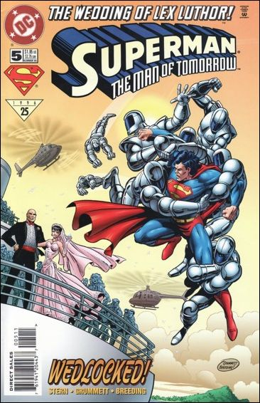 Superman: The Man of Tomorrow 5-A by DC