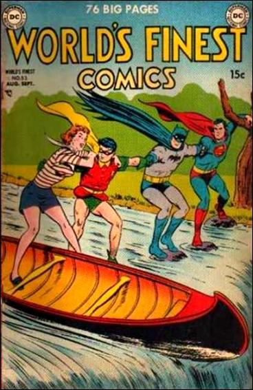 World's Finest Comics 53-A by DC