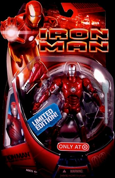 Iron Man (Movie) Iron Man (Repulsor Red Prototype) by Hasbro