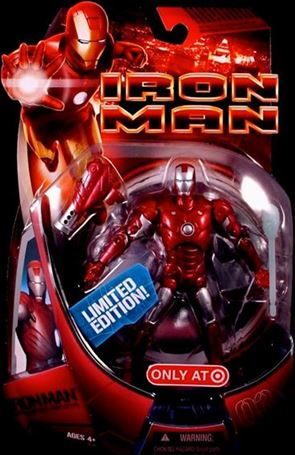 Iron Man (Movie) Iron Man (Repulsor Red Prototype)