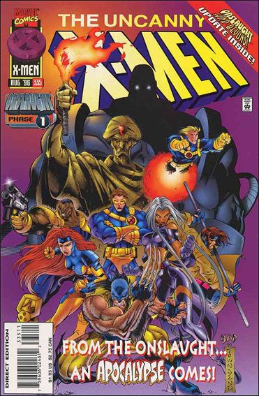Uncanny X-Men (1981) 335-A by Marvel