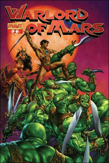 Warlord of Mars 2-B by Dynamite Entertainment