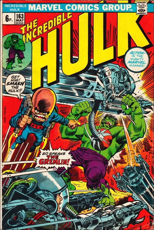 Incredible Hulk (1968) 163-B by Marvel