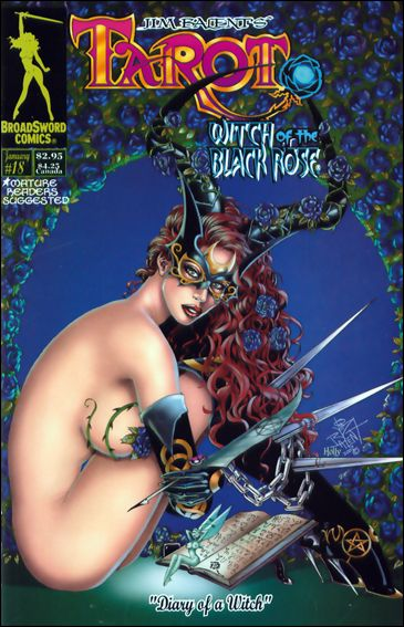 Tarot: Witch of the Black Rose 18-B by BroadSword Comics