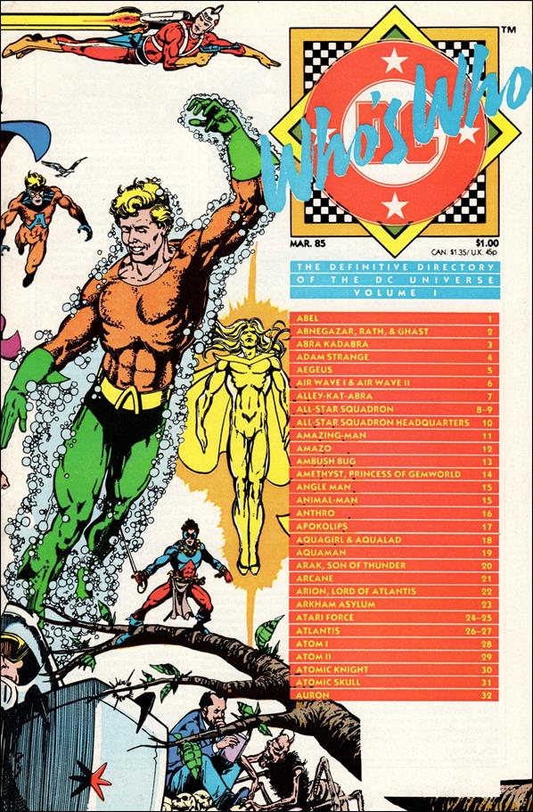 Who's Who: The Definitive Directory of the DC Universe 1-A by DC