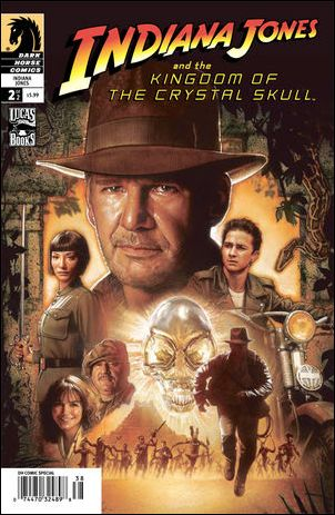 Indiana Jones and the Kingdom of the Crystal Skull 2-B by Dark Horse