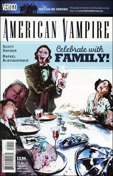 American Vampire 25-A by Vertigo