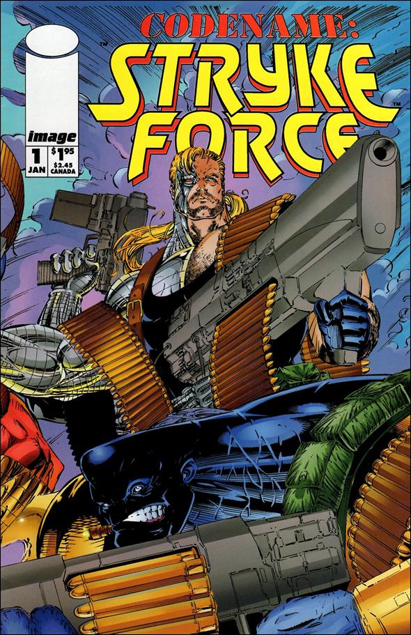Codename: Stryke Force 1-A by Image