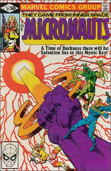 Micronauts (1979) 31-A by Marvel