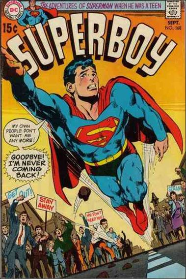 Superboy (1949) 168-A by DC