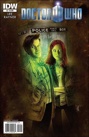 Doctor Who (2011) 2-C by IDW