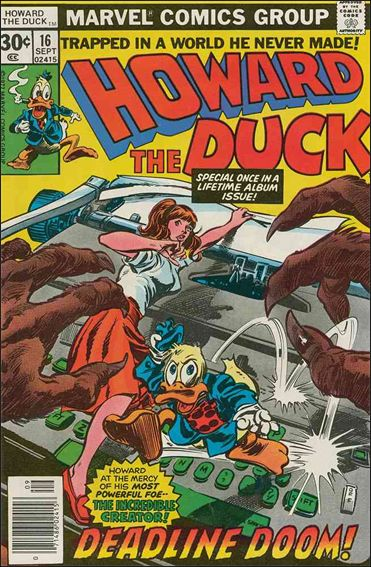 Howard the Duck (1976) 16-A by Marvel
