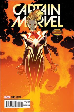 Captain Marvel (2016) 5-B