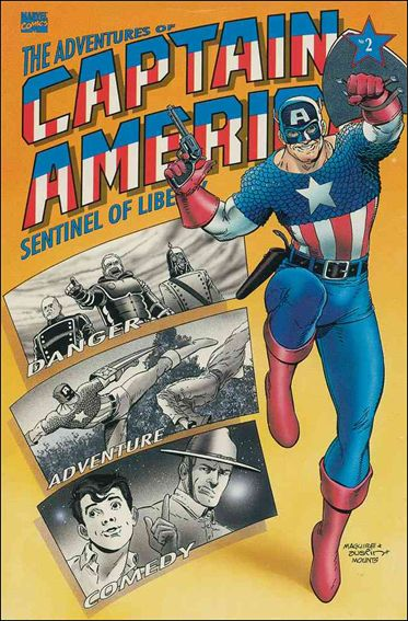 Adventures of Captain America - Sentinel of Liberty 2-A by Marvel
