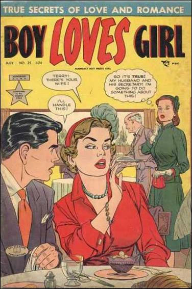 Boy Loves Girl 25-A by Lev Gleason Productions