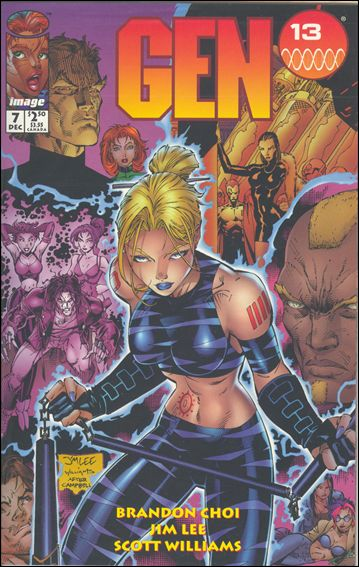 Gen13 (1995) 7-A by WildStorm