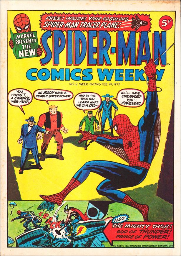 Spider-Man: Comics Weekly (UK) 2-A by Marvel UK