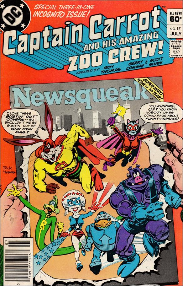 Captain Carrot and His Amazing Zoo Crew 17-A by DC