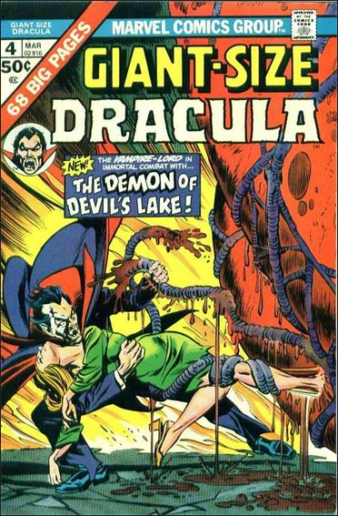 Giant-Size Dracula 4-A by Marvel