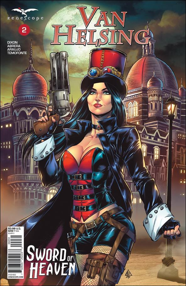 Van Helsing: Sword of Heaven 2-C by Zenescope Entertainment