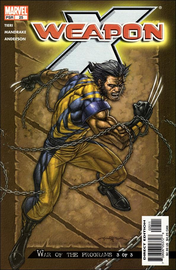 Weapon X (2002) 25-A by Marvel