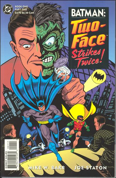 Batman: Two-Face Strikes Twice 1-A by DC
