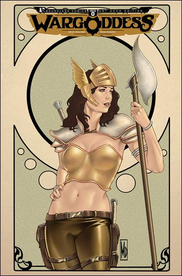 War Goddess 0-D by Boundless Comics