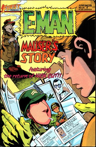 E-Man (1983) 24-A by First