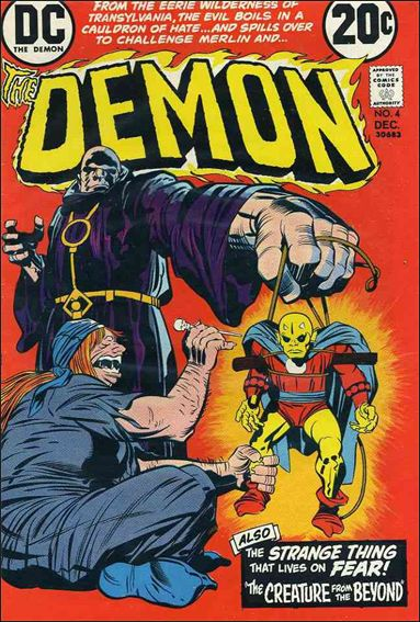 Demon (1972) 4-A by DC
