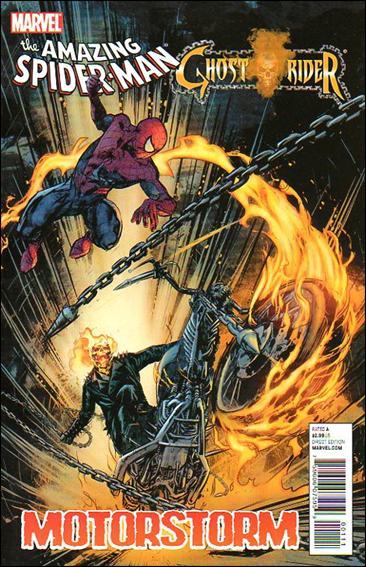 Amazing Spider-Man/Ghost Rider: Motorstorm 1-A by Marvel