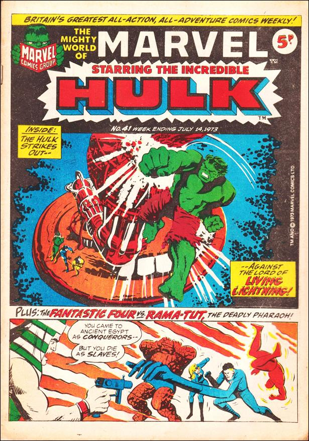 Mighty World of Marvel (UK) (1972) 41-A by Marvel UK