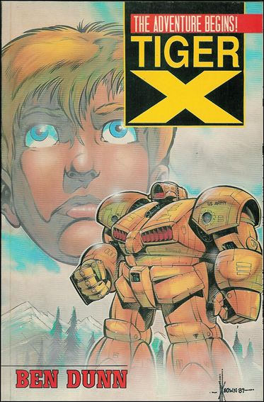 Tiger-X: The Adventure Begins 1-A by Malibu