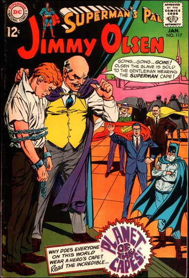 Superman's Pal Jimmy Olsen 117-A by DC