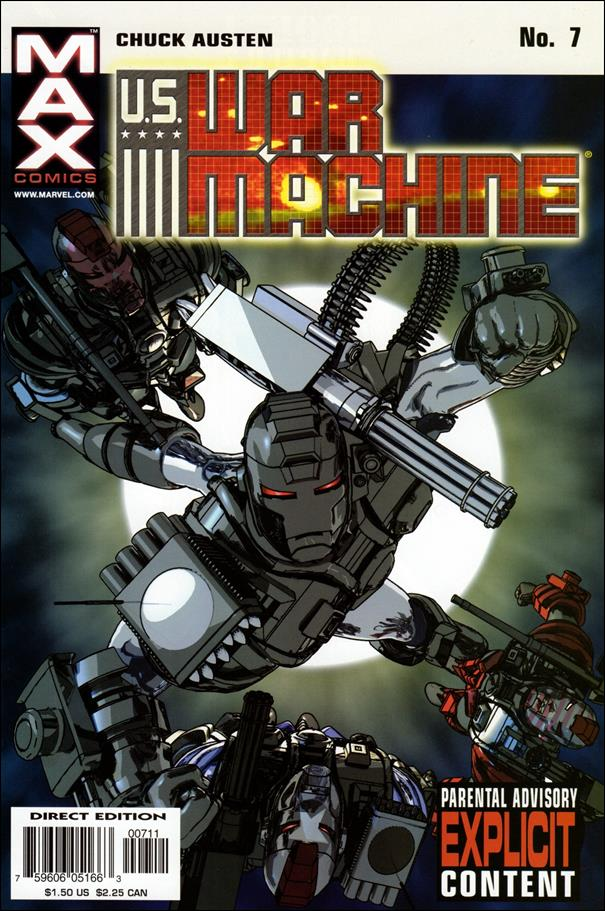 U.S. War Machine 7-A by Max
