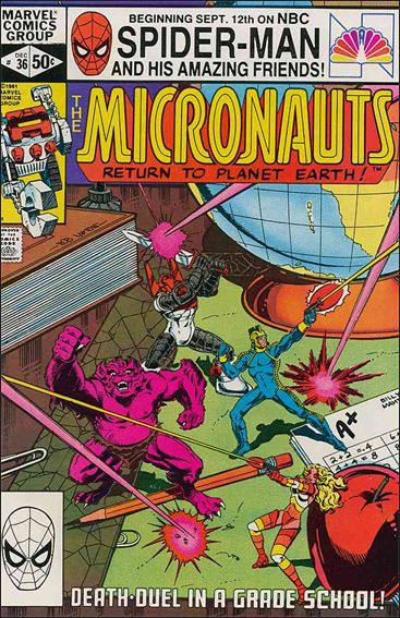 Micronauts (1979) 36-A by Marvel