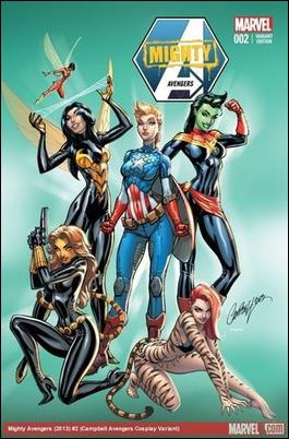 Mighty Avengers (2013) 2-E by Marvel