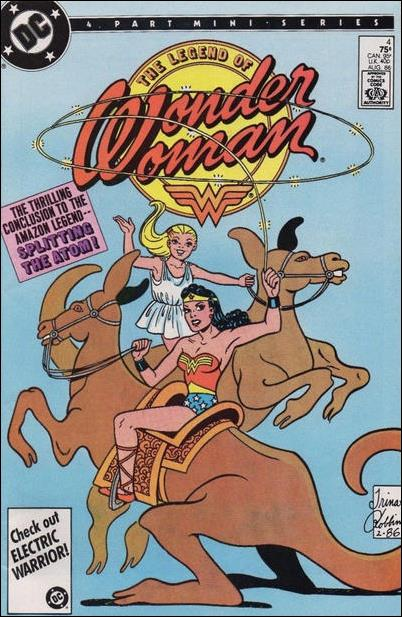 Legend of Wonder Woman (1986) 4-A by DC