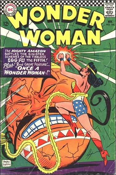 Wonder Woman (1942) 166-A by DC
