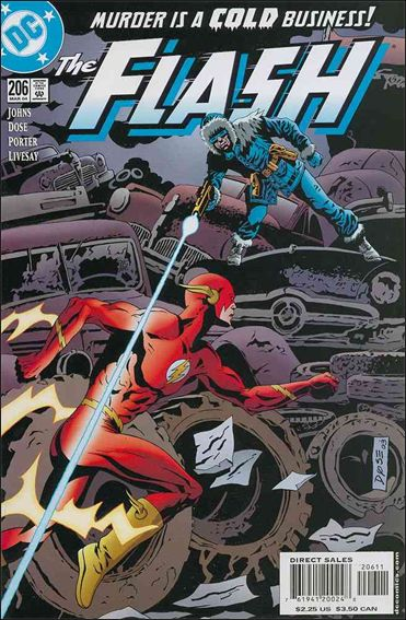 Flash (1987) 206-A by DC