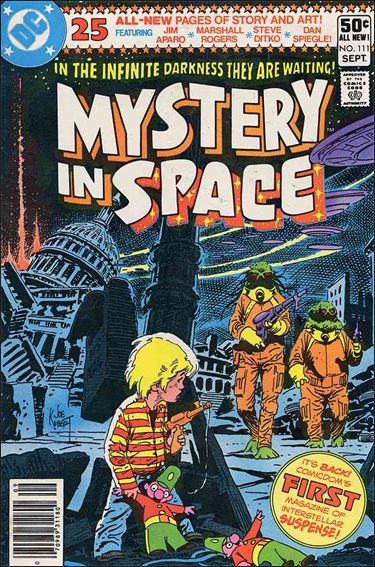 Mystery in Space (1951) 111-A by DC