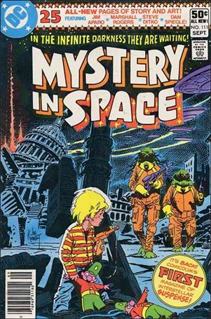Mystery in Space (1951) 111-A
