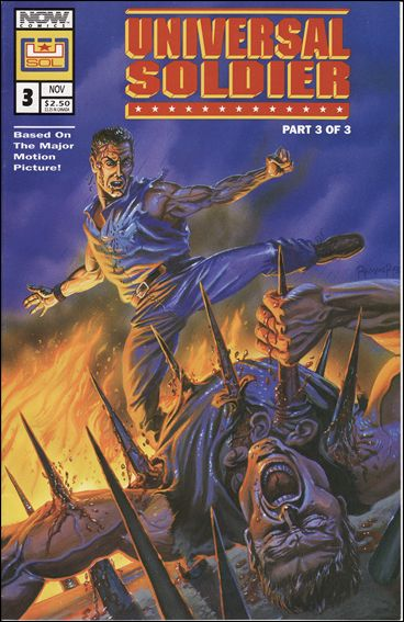 Universal Soldier 3-A by Now Comics
