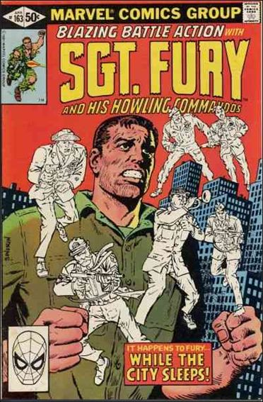 Sgt. Fury and His Howling Commandos 163-A by Marvel