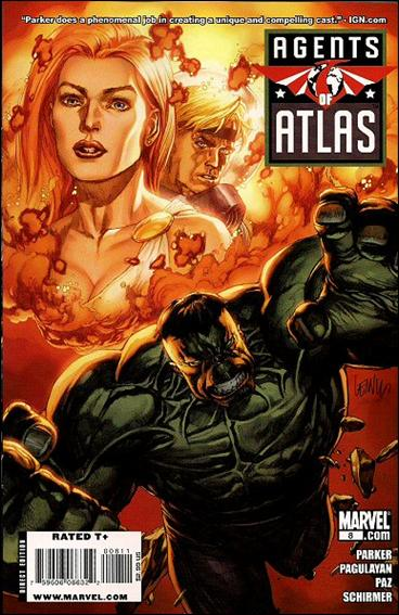 Agents of Atlas (2009) 8-A by Marvel